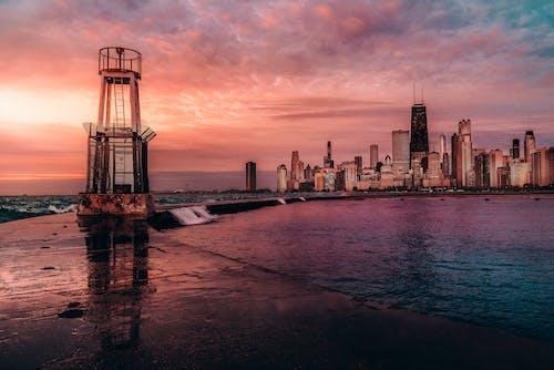Photos gratuites de aube, coucher de soleil, crépuscule, horizon