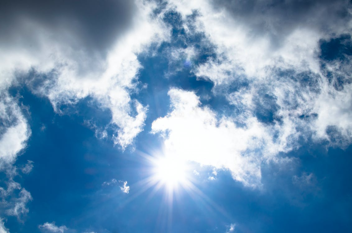 Безкоштовне стокове фото на тему «атмосфера, білий, блакитне небо»