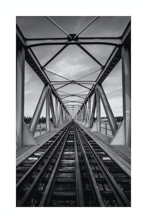 Ảnh lưu trữ miễn phí về ảnh, cầu, sâu, xe lửa