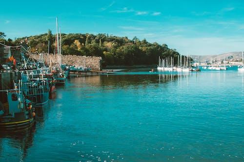 Бесплатное стоковое фото с берег моря, бирюзовый, вода, водный транспорт