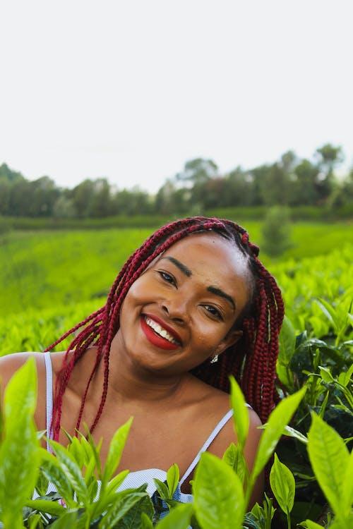 Δωρεάν στοκ φωτογραφιών με portraitswithapop, αειθαλής, ανάμειξη χρωμάτων, Αφρικανή