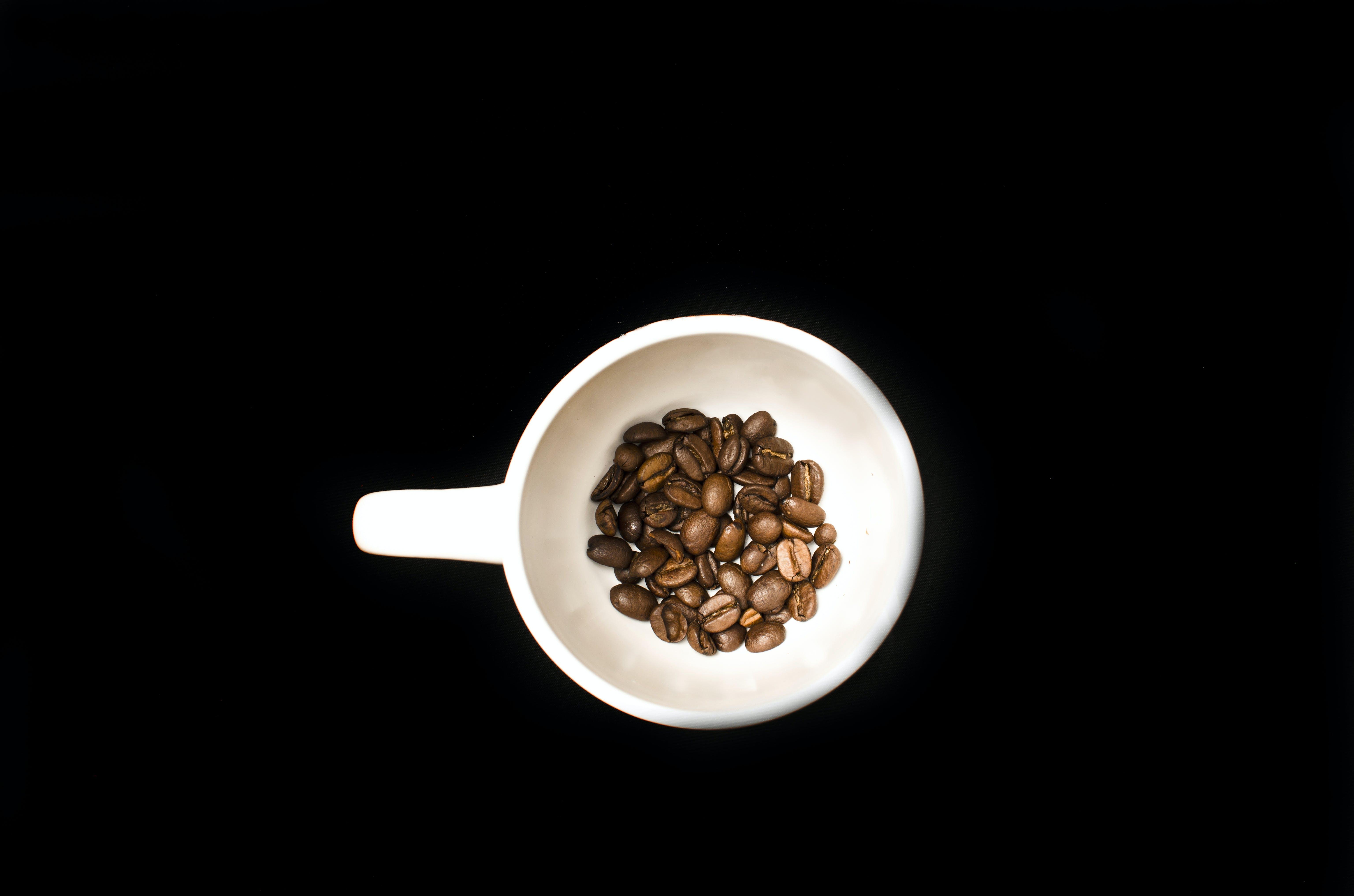beans, black, brown