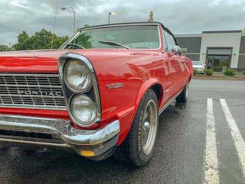 Δωρεάν στοκ φωτογραφιών με pontiac, αυτοκίνητα, κόκκινο, προβολέας