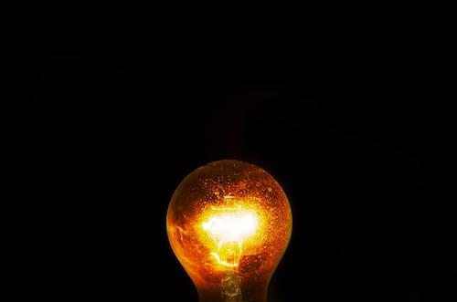 Foto stok gratis bohlam, bola lampu, cahaya, diterangi