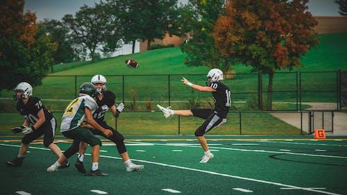 aksiyon, aktivite, alan, Amerikan futbolu içeren Ücretsiz stok fotoğraf