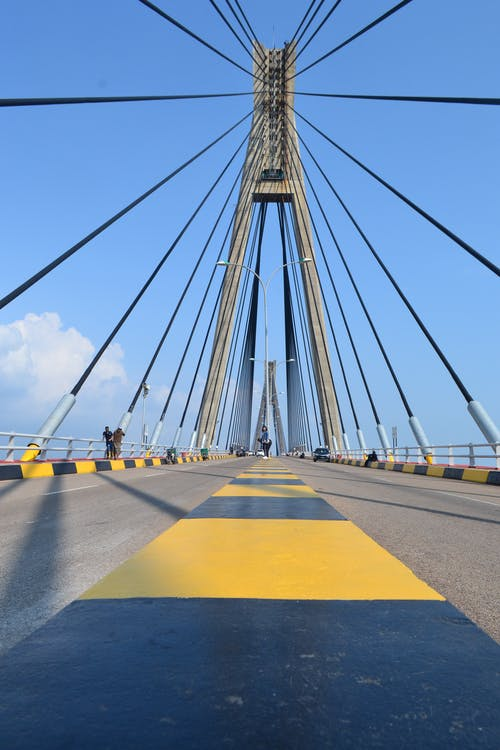 Endonezya, görülecek yer, köprü, mimari içeren Ücretsiz stok fotoğraf