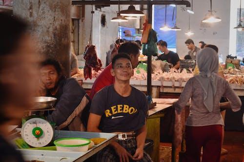 balık Pazarı, Çiftçi marketi, Endonezya içeren Ücretsiz stok fotoğraf