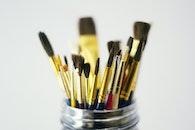 art, brush, painting