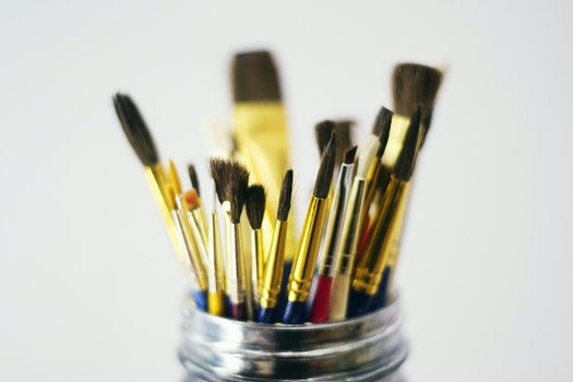 Free stock photo of art, brush, painting, creativity