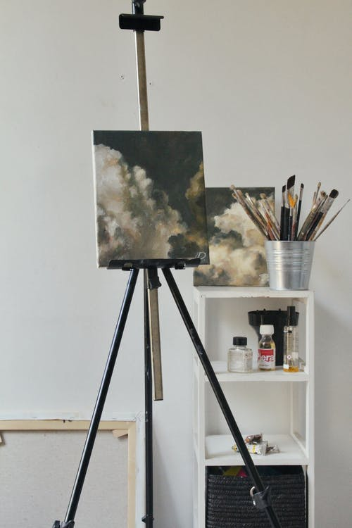 White Clouds Painting