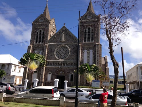Free stock photo of Immaculate Conception Co-Cathedral St. Kitts