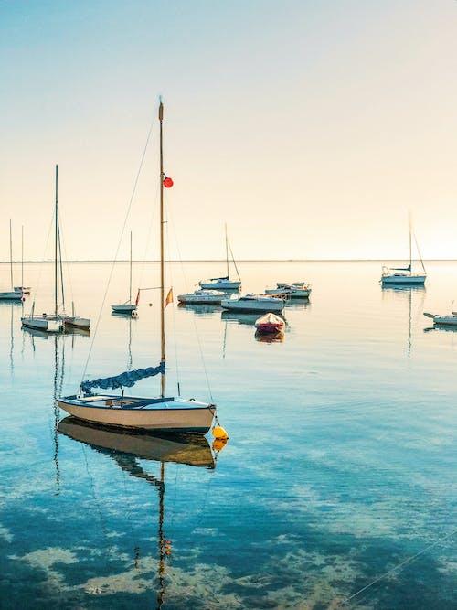 askıya alınan zaman, deniz, sakin sular, sessiz içeren Ücretsiz stok fotoğraf