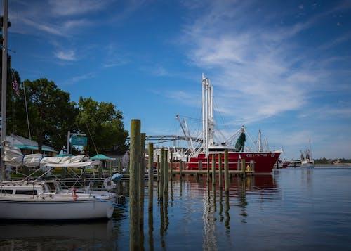 Foto d'estoc gratuïta de barca, Costa, moll, oriental