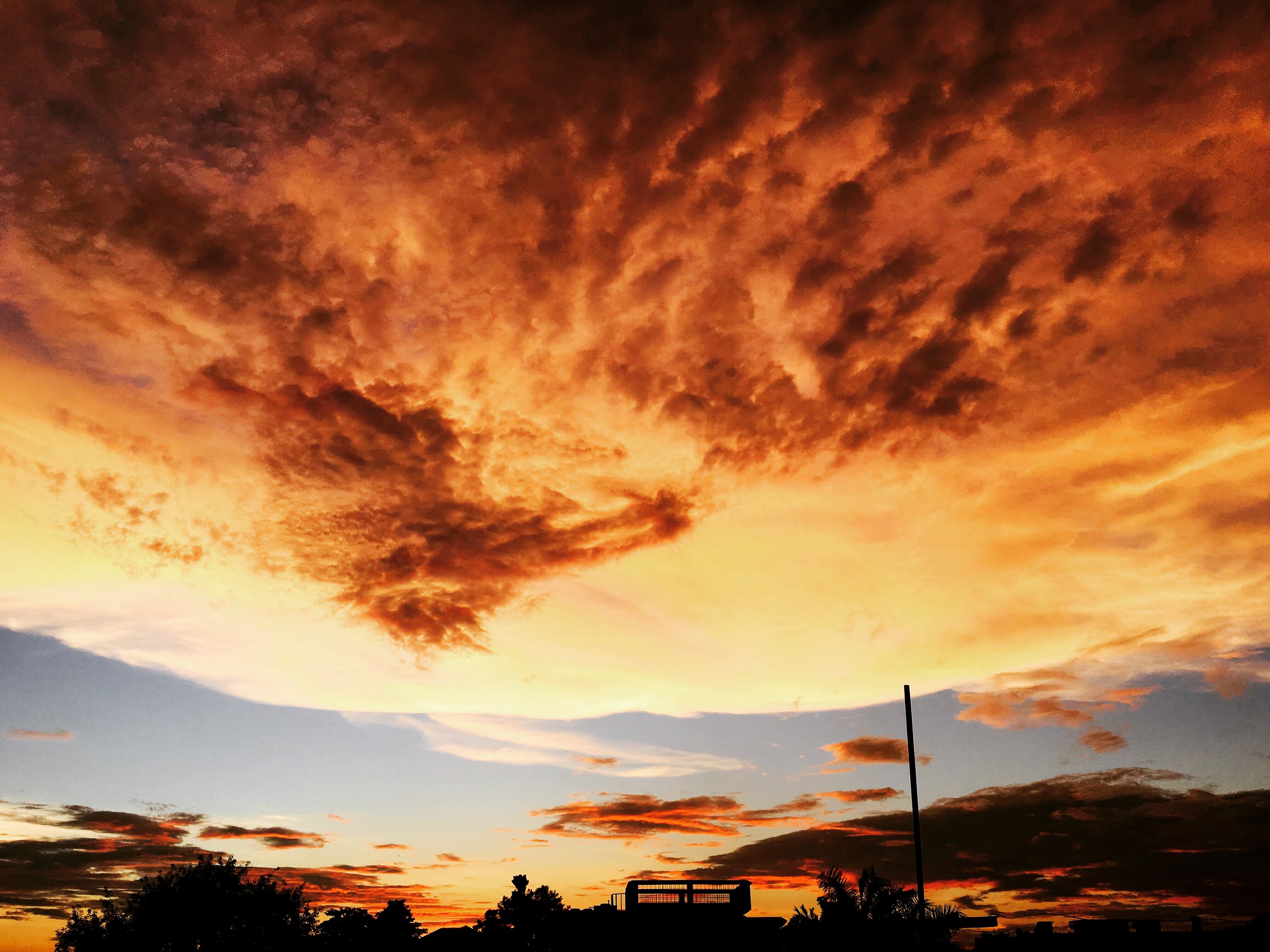 Panoramic Photography of Sky