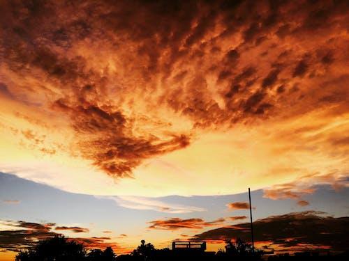 Kostnadsfri bild av gryning, himmel, moln, solnedgång