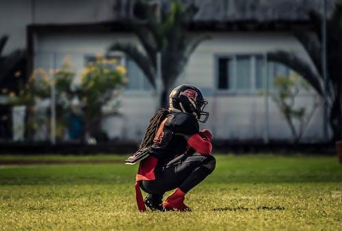 Kostnadsfri bild av amerikan, Amerikansk fotboll, amerikansk fotbollsspelare, fotboll