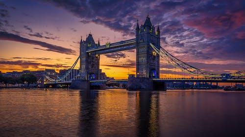 倫敦, 塔, 天空, 旅行 的 免费素材照片