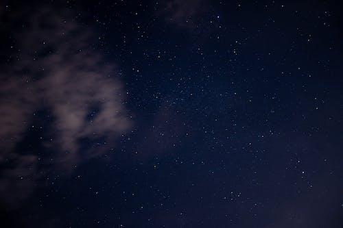 Δωρεάν στοκ φωτογραφιών με blu, cielo, notte, nuvole
