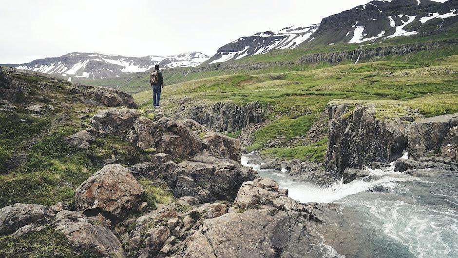hiker, hiking, man