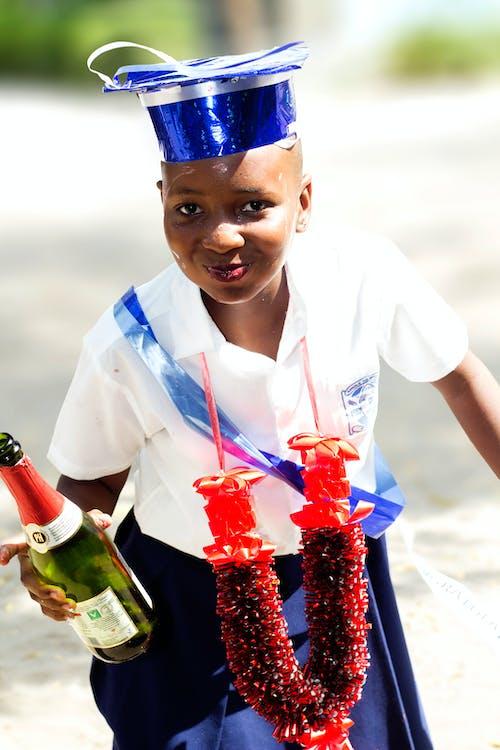 Free stock photo of champaigne, graduation, graduation cap, graduation gown