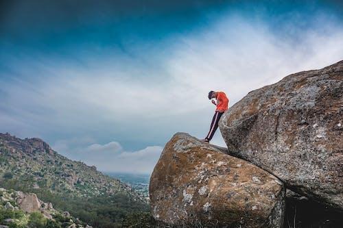 トレッキング, バックグラウンド, 丘の無料の写真素材