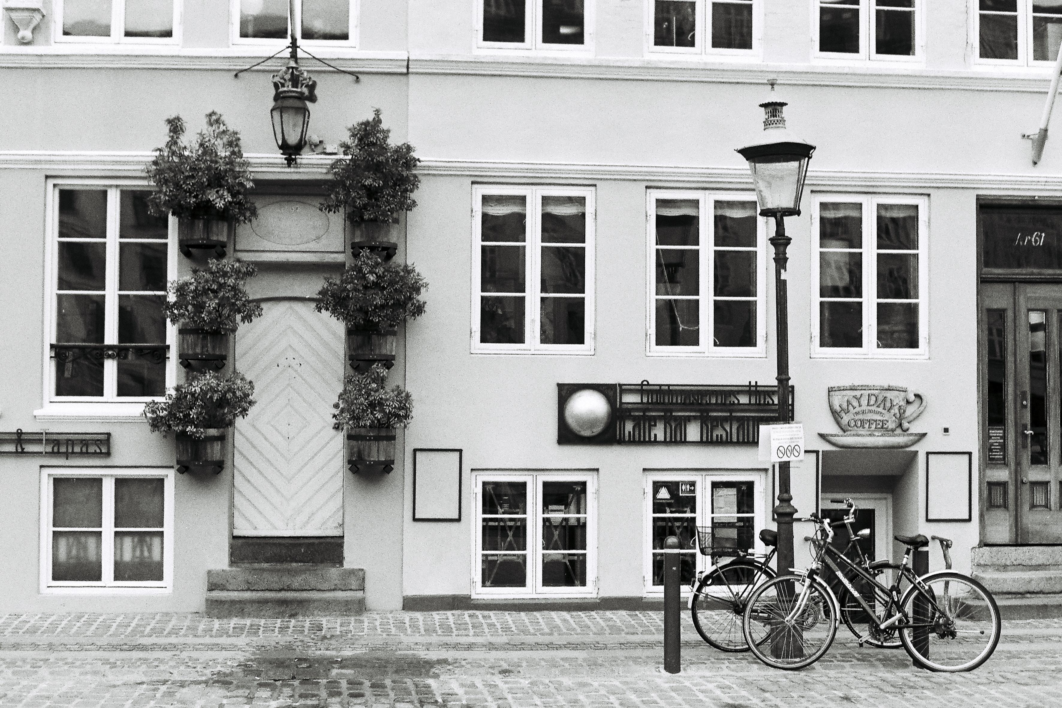 Bicycle Beside Building
