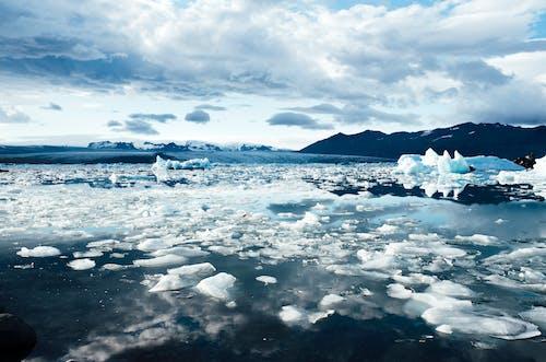 Бесплатное стоковое фото с айсберг, вода, исландия, климат