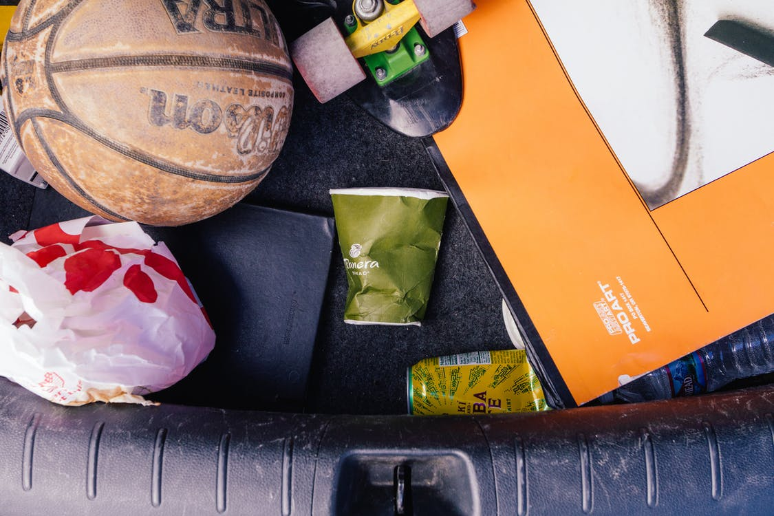 barvy, basketbal, denní světlo