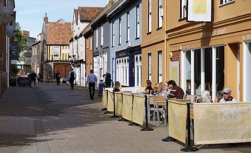 Fotos de stock gratuitas de cafetería, calle, calles, comida