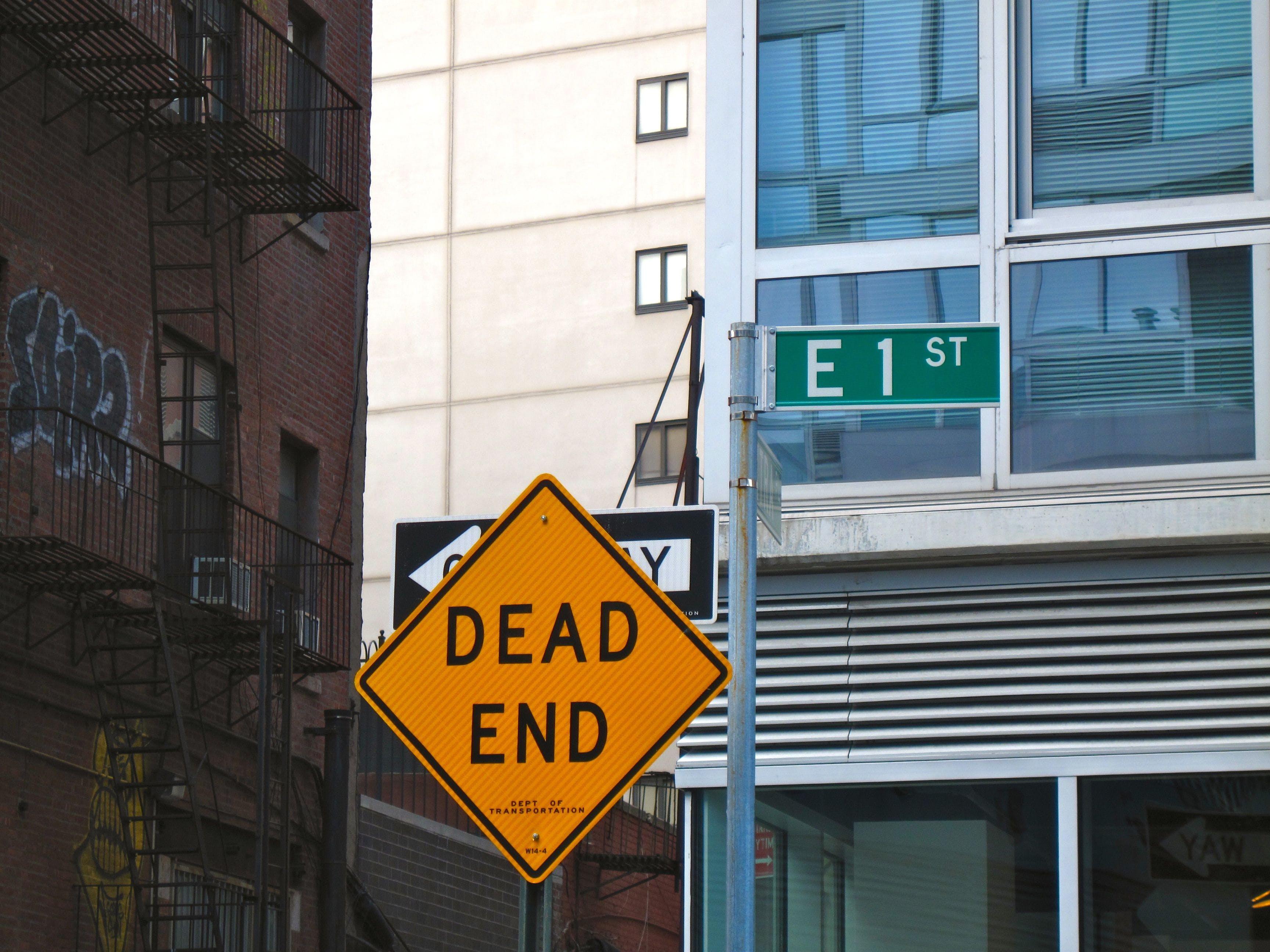 Dead End Road Signage