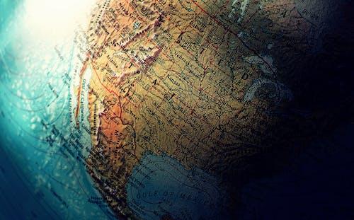 Fotos de stock gratuitas de America, esfera, Estados Unidos, mapa