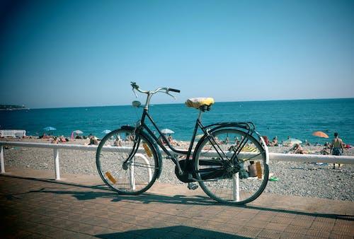 Kostnadsfri bild av cykel, franska riviera, strand, trevlig