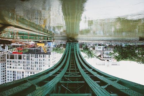Бесплатное стоковое фото с берег, глубина резкости, деревянный мост, путепровод