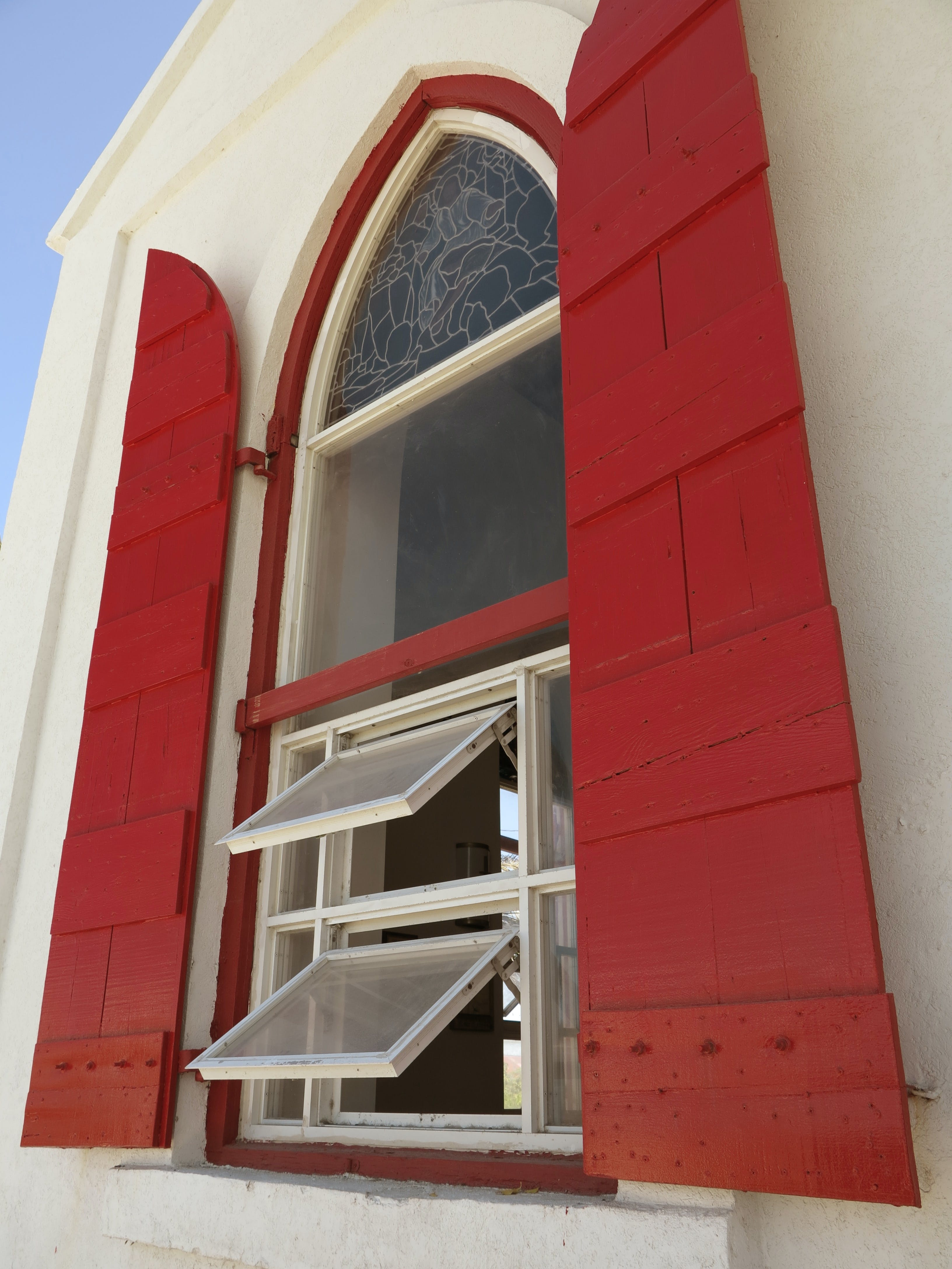 Free stock photo of arched window, turks and caicos, window