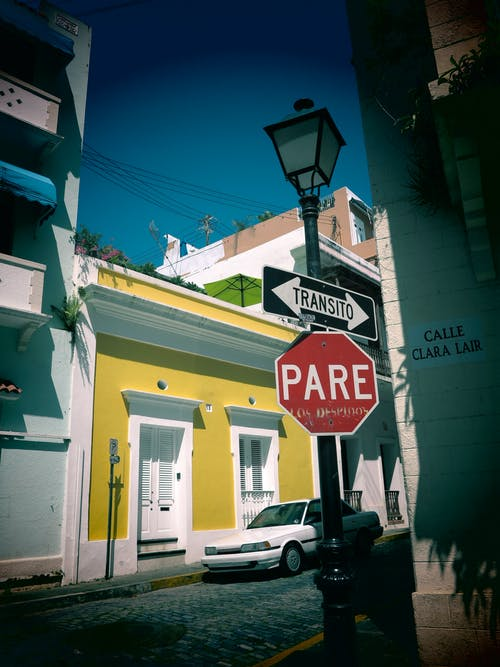 Kostnadsfri bild av gata, gatuskylt, puerto rico, san juan
