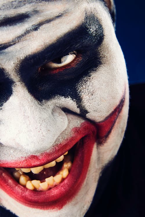 Free stock photo of clown, portrait