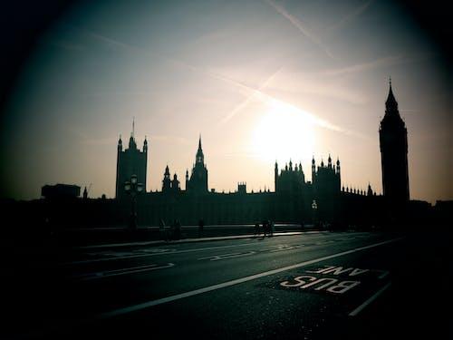 Kostnadsfri bild av big ben, london, solnedgång, Storbritannien