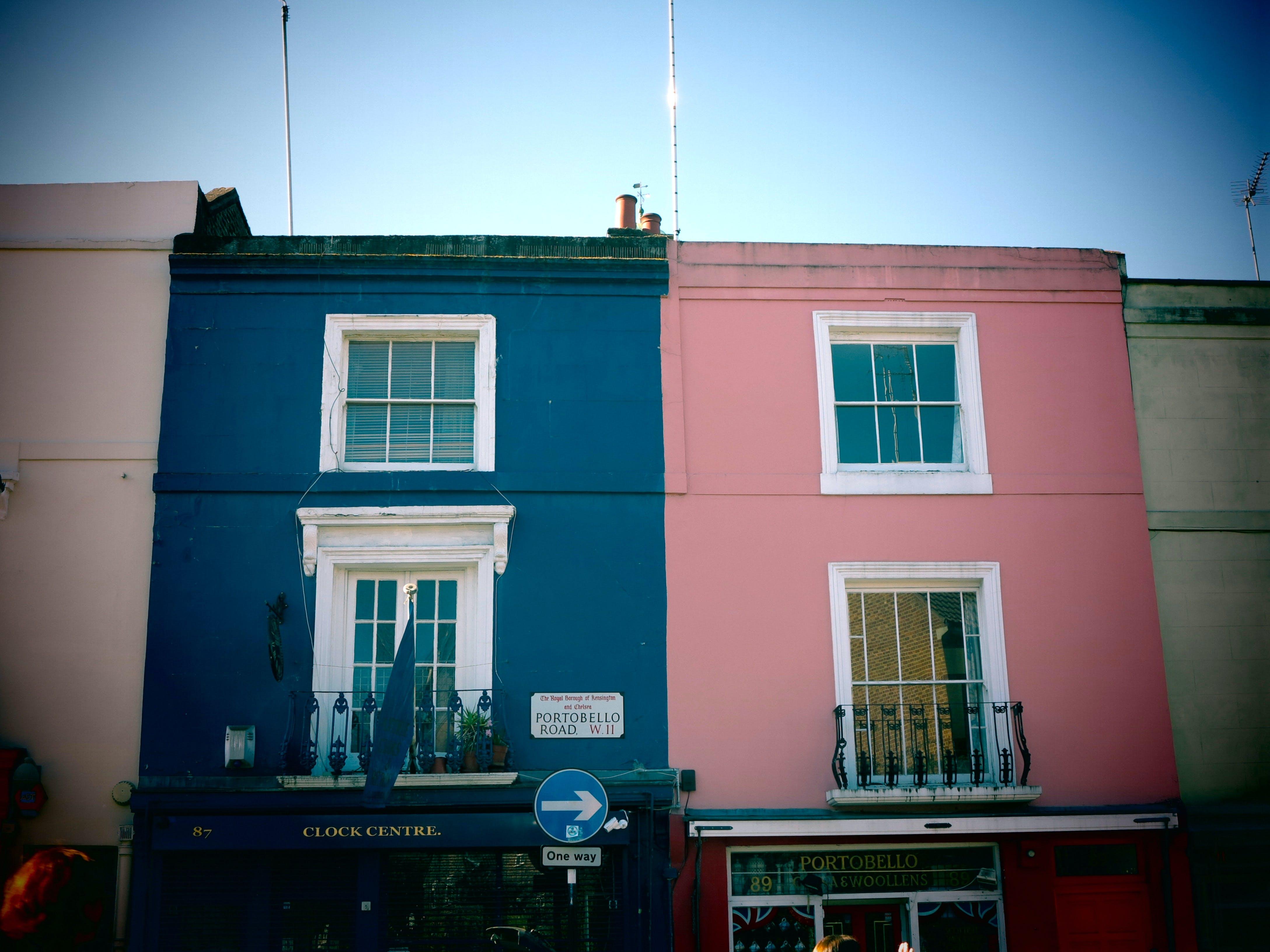 Free stock photo of architecture, london, notting hill, UK