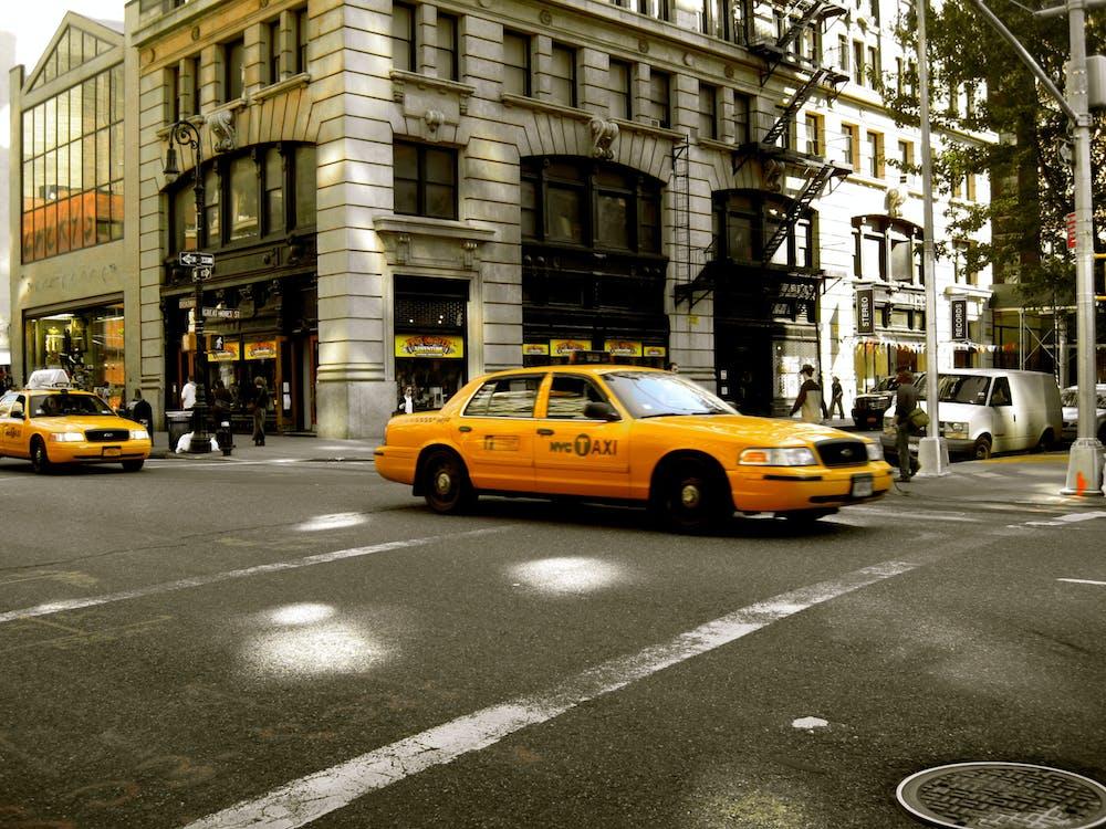 Free stock photo of manhattan, new york, taxi