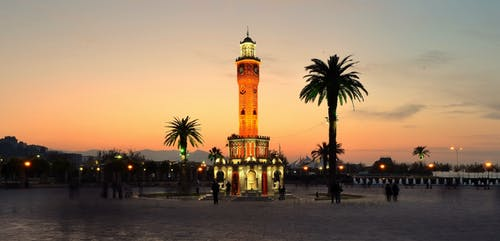 Immagine gratuita di lunga esposizione, torre dell'orologio