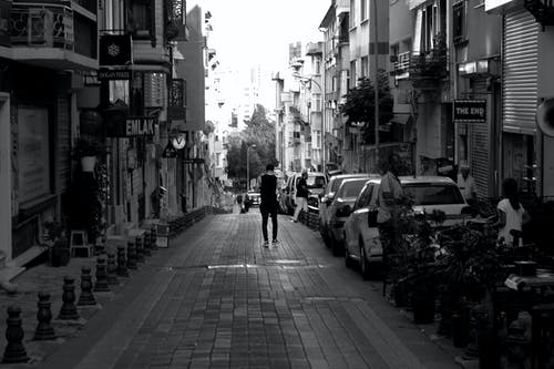 Free stock photo of lonely, man, street