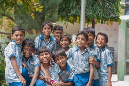 Free stock photo of best friends, Besties, blue, boys