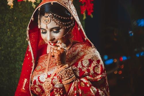 dupatta, 傳統, 傳統服飾, 儀式 的 免費圖庫相片
