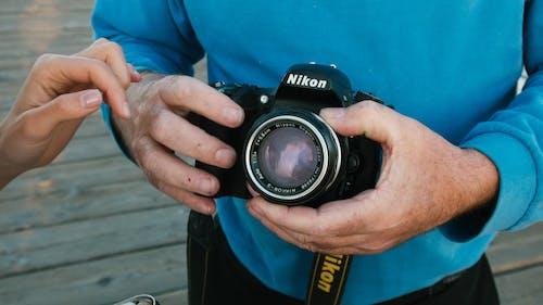 Schwarze Nikon Dslr Kamera