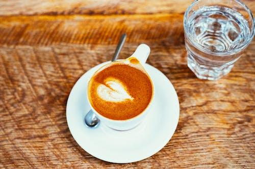 Základová fotografie zdarma na téma kapučíno, káva, macchiato