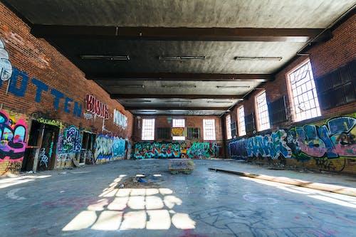 Graffiti Covered Building