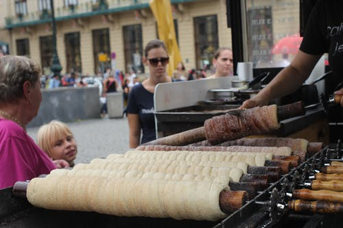 Foto stok gratis czechia, makanan, makanan tradisional, Praha