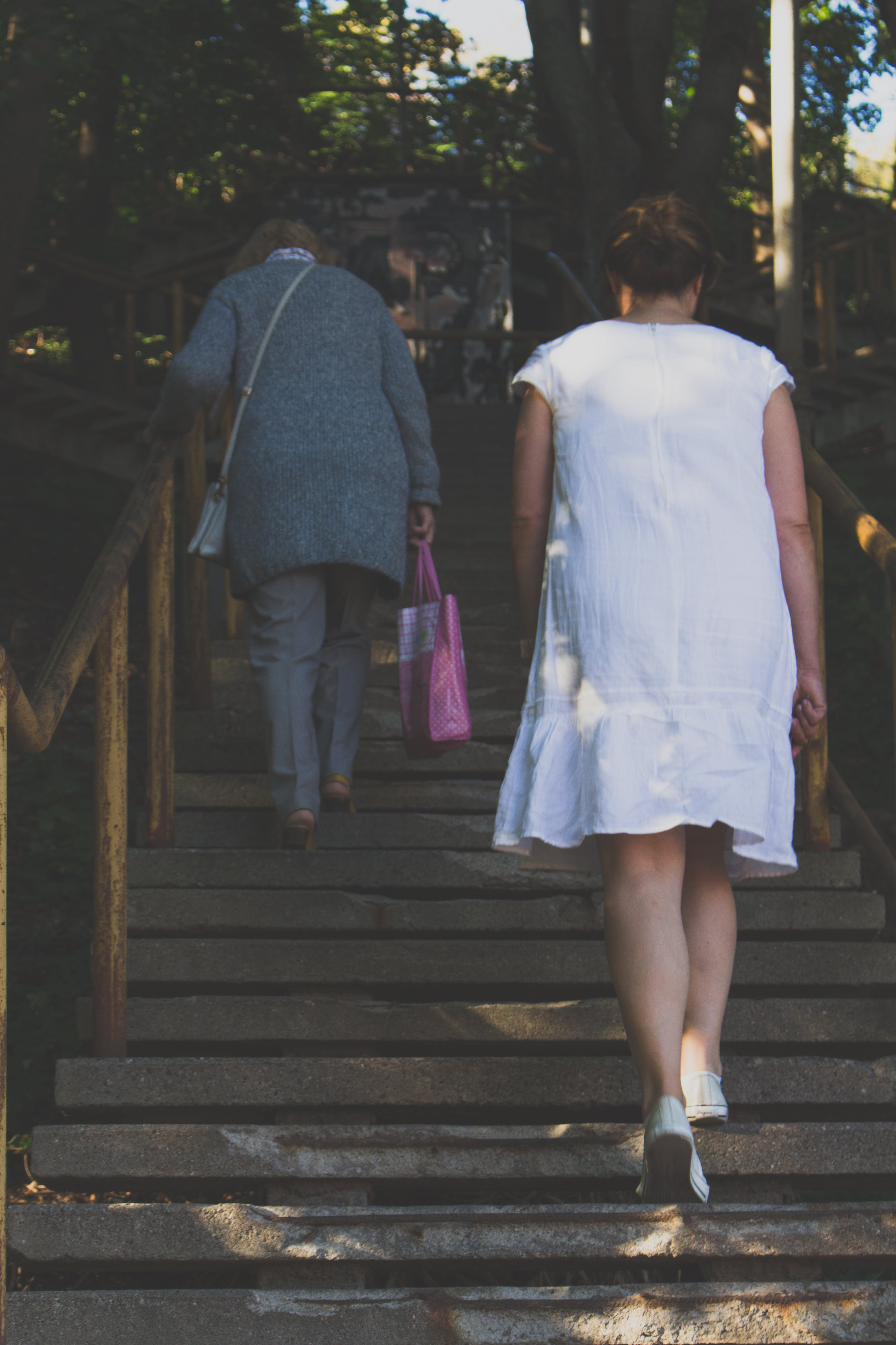 Free stock photo of stairs, fashion, people, women