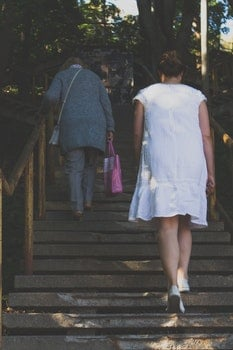Free stock photo of stairs, fashion, people, women