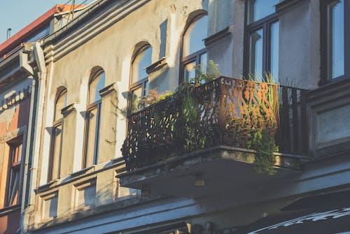 Darmowe zdjęcie z galerii z architektura, balkon, brudny, budynek
